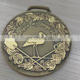 Event Gift Promotion item Antique Bronze Details Design Medal Coin