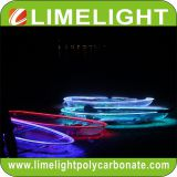 glass kayak with LED light for night tour
