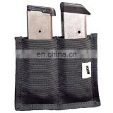 Double Magazine Pouch Clip Holder  Concealed Carry  Gun Safe Accessory