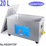 K820HTDP 20L Variable Power Sonic Wave Ultrasonic Bath Cleaner