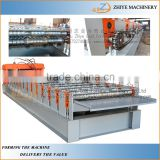 Steel Wall Panel/ Iron Sheet Making Production Line/zinc coated iron roofing panel making machine