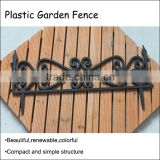 (559) Various Kinds of Brick Design High Quality Decorative Plastic Garden Fence                                                                                         Most Popular