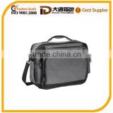 Deluxe multifunctional traveling businessman nylon laptop bag with magnetic quick close pocket