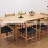 Replica high quality solid ash wood Hans J. Wegner CH327 Dining table for dining room