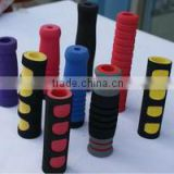 colorful NBR rubber tube foam handle grips for bicycle