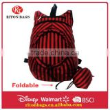 2016 Wholesale Fashional Design of Foldable Backpack for Travel Backpack Bag for Shopping Bag