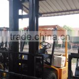 Original japanese Komat FD30 3ton /used electric forklift with 3 masts in top performance
