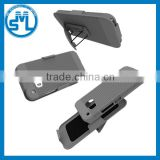 China Suppliers 2in1 Combo Shockproof Hard PC Belt Clip Stand mobile phone Armor Case for HTC one M9