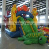 animal shape hippocampi bouncy castle outdoor advertisement