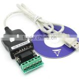 USB 2.0 USB 2.0 to RS485 RS-485 RS422 RS-422 DB9 COM Serial Port Device Converter Adapter Cable, Prolific PL2303