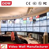 Popular interactive flexible led screens 5.3mm bezel Samsung seamless lcd video wall