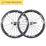 38mm clincher carbon fiber wheels bicycle wheelset road bike with Powerway R36 Hub Sapim cx-ray spoke