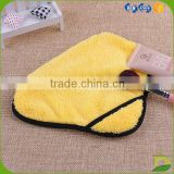 ebay sourcing supplier wholesale micro fiber face towel yellow