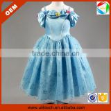 Bulk wholesale beautiful cinderella dress party frocks for girls(Ulik-A0042)
