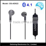 Factory Direct Sell Bluetooth 4.1 Wireless Walkie Talkie Earbuds / Mono Earphone (OS-AD022)                                                                         Quality Choice