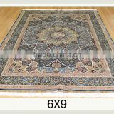 turkish design handmade silk rug hand knotted persian silk carpets for home hotel villa silk rug