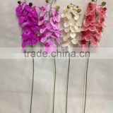 artificial latex flowers orchids factory for wedding favor