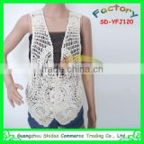 African fashion ladies top high embroidered cotton sarees blouse designs cotton embroidery lace blouse vest