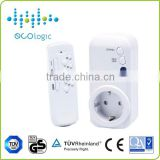 2 Pack Remote Control Sockets Wireless Switch Us Plug Ac Power Outlet Home Us