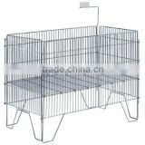Metal Material light duty storage wire container with good quality