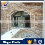 Water Proof coated pvc exterior wall panels wall cladding