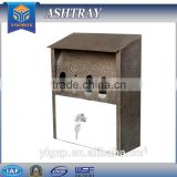 YOOBOX for your selection outdoor ashtray wall mounted cigar ashtray hanging type