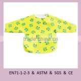 Custom OEM Eco-friendly Washable Waterproof Feeding Burp Oxford Cloth Baby Bib
