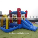 Hot sale playing pool with slide inflatable jumping bouncer