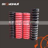China made high strength Excavator springs / track spring/recoil spring China manufacturer