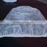 Tengxing standard Sanitary PVC shower cap