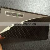0.8mm Carbon fiber business card