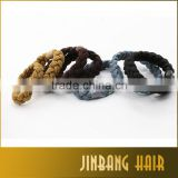 Women Elastic Hair Tie Band Rope Ring Braiding Cotton Ponytail Holders