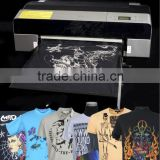 cheap chinese 8 color A2 Size Discharge Ink T-shirt Printer for sale
