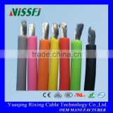 silicone rubber high voltage electrical wire heat resistant oil resistance main use for high temperature service