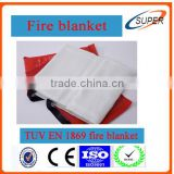 1.1m*1.1m Fiberglass Fire Blanket With EN 1869:1997