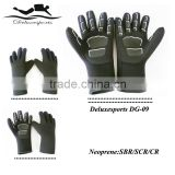 Keep warm neoprene gloves,neoprene yellow diving gloves,waterproof neoprene gloves (item:DG09)