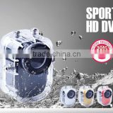 multifunctional 5mp mini dv camera, full hd mini camera with IP67 waterproof 10 meter underwater