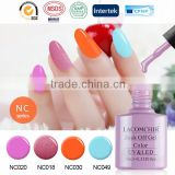 2016 The Most Popular LACOMCHIR Nail Arts Design Gel Polish ,Shining Colors UV Gel Nails                                                                         Quality Choice