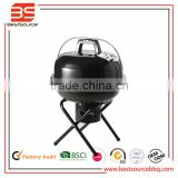 BBQ Grill,Stainless Steel chromed Cooking Mesh Barbecue Grill Handbag for outdoor travel campi
