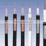 Best coaxial cable , RG11 coaxial cable with message for outdoor cable tv camera with rohs ce iso9001 made in china yiwu