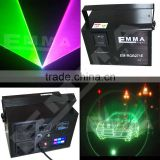 Remote DMX 5000mW RGB Laser Stage Lighting Scanner DJ Dance Xmas Show Blue Light LED Effect Projector Fantastic Disco item
