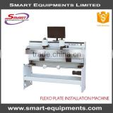 high-end flexo plate installation machine for flexo printing machine