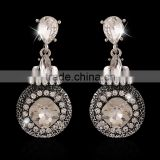 2016 Popular Fashion Diamond Earrings Double Sided Front and Back earring hidden camera