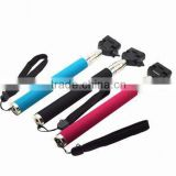 wholesale monopod Wireless bluetooth Shutter handheld smartphone monopod with Clip Holder aluminum for All Brand Phone