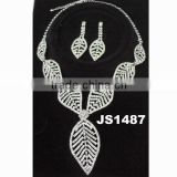 leaves jewelry latest indian fashion wedding bridal jewelry set