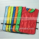 Soccer football training vest bibs, reversible soccer bibs, cheap OEM soccer bibs small quantity accepted