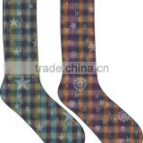 High Elastic Polyester Dye Printing Crew Socks/Sport Crew Sublimated Socks/ Digital Print Socks