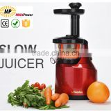 2015 New beautiful design Natural health slow juicer machine CB/CE/CSA/RoHS
