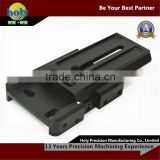 custom made cnc milling machine parts assembly sliding table 7075-t6 black anodized aluminium cnc case