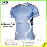 Bodybuilding men fitness t-shirt, dry fit sports tshirts, custom tshirt printing for gym